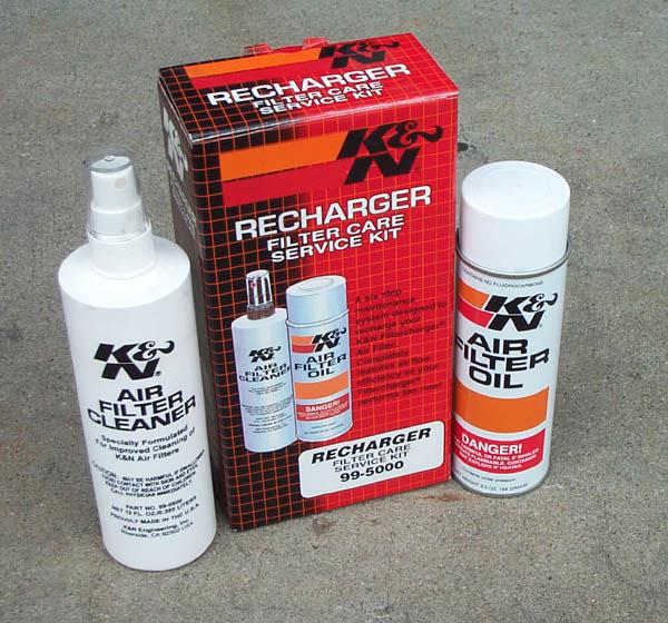 k&n recharger kit instructions