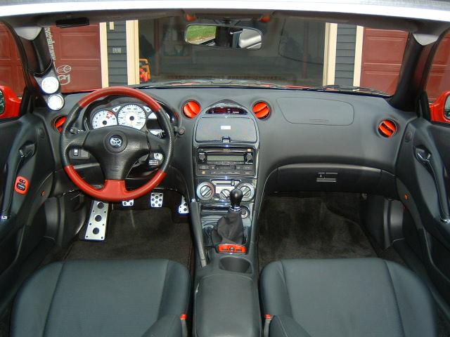 Carbon Fiber Dash Celica Hobby