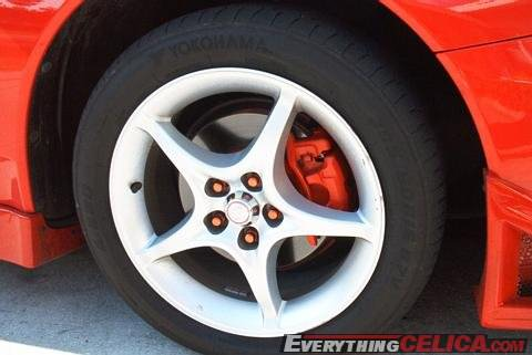 RMM Body Kit Painted Calipers, Lugnuts