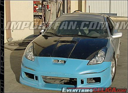 Rx7 Body Kit Unpainted Carbon Fiber Hood owner: Jose Ibarra (yota racer)