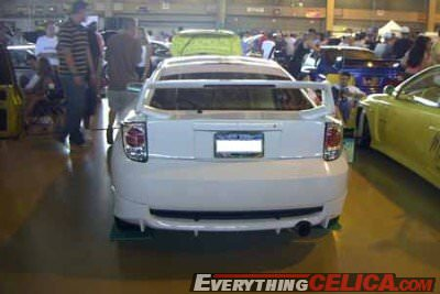 TRD Body Kit Altezza Tails, TRD Spoiler, Tinted Windows, Rear Window Vinyl Tint