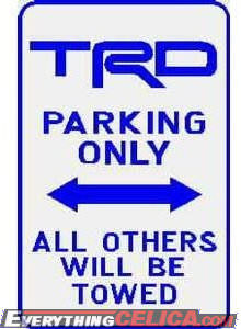 TRDParkingSign