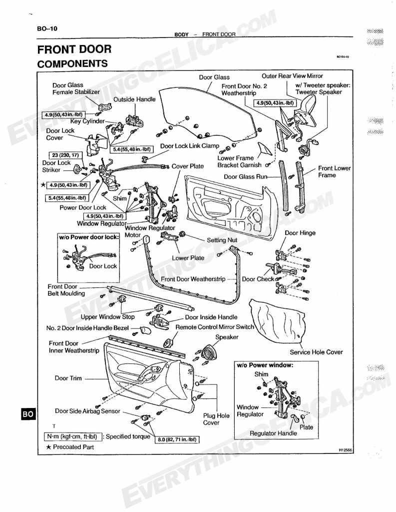 international door latch diagram  international  free